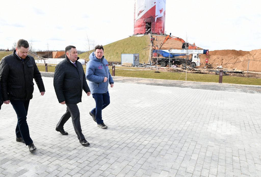 Итоги недели: Ржевский мемориал, единый центр выплат «Тверская семья», борьба с распространением коронавируса