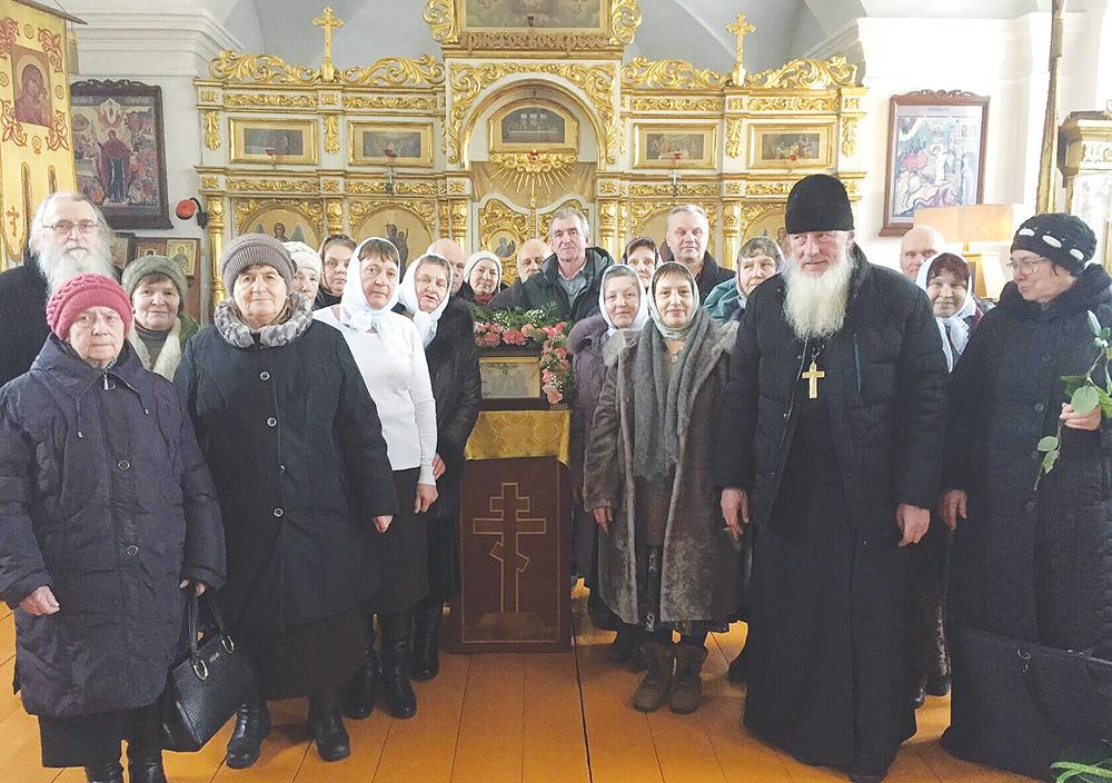 В Жарковском районе прошли праздничные богослужения