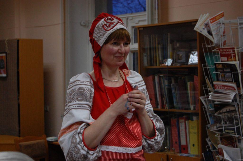 Библиотекари Тверской области заявили о самопрезентации: Ольга Леодорова