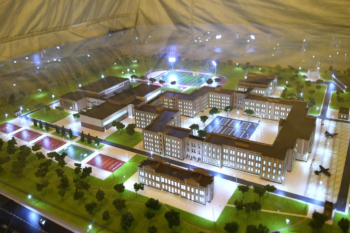 Рядом с новым тверским суворовским училищем построят храм