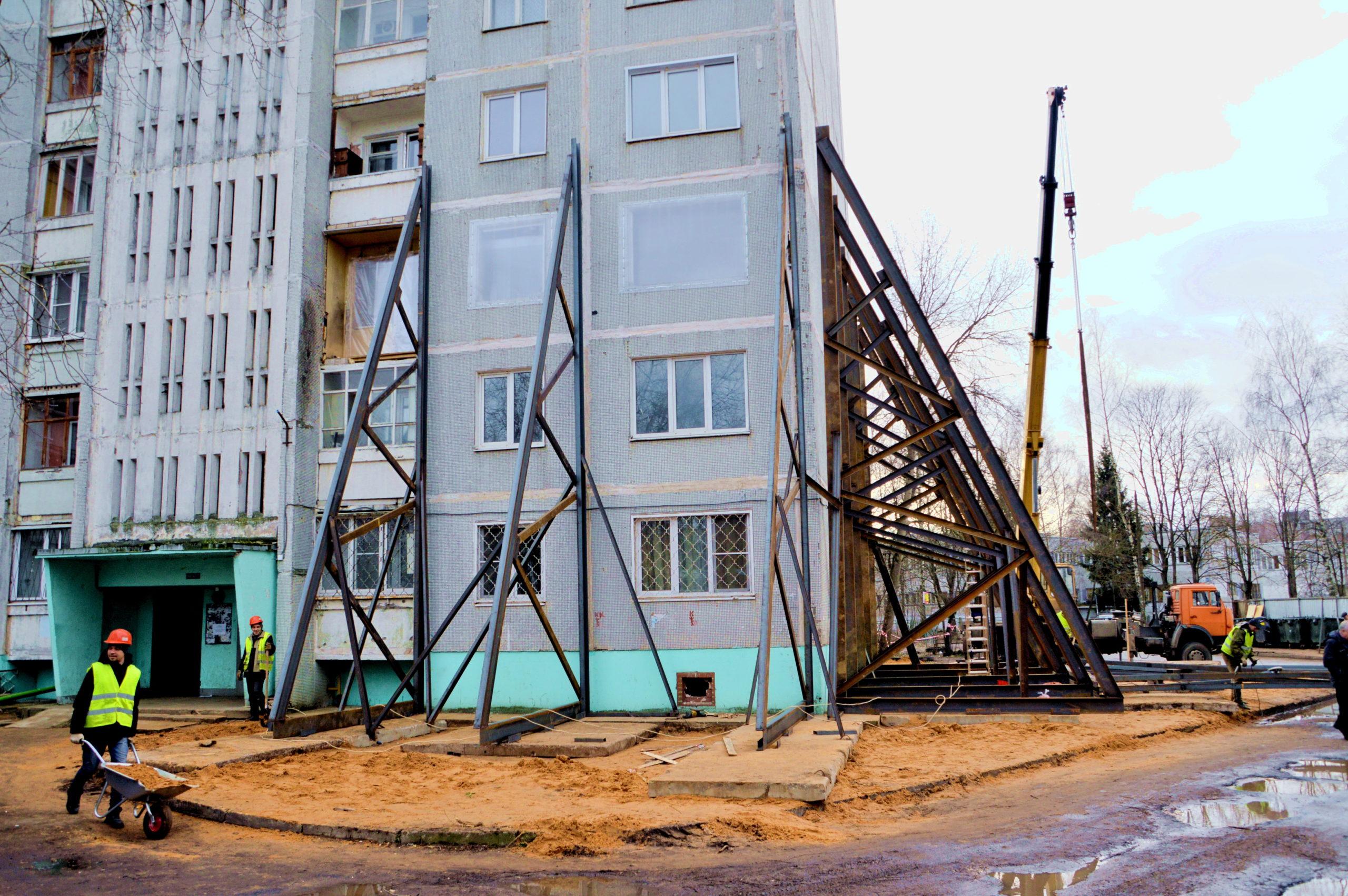В Твери почти завершены ремонтные работы в доме, где произошел хлопок газа