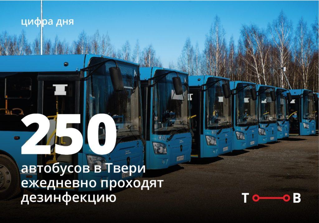 Синие автобусы вышли на новый маршрут в Твери