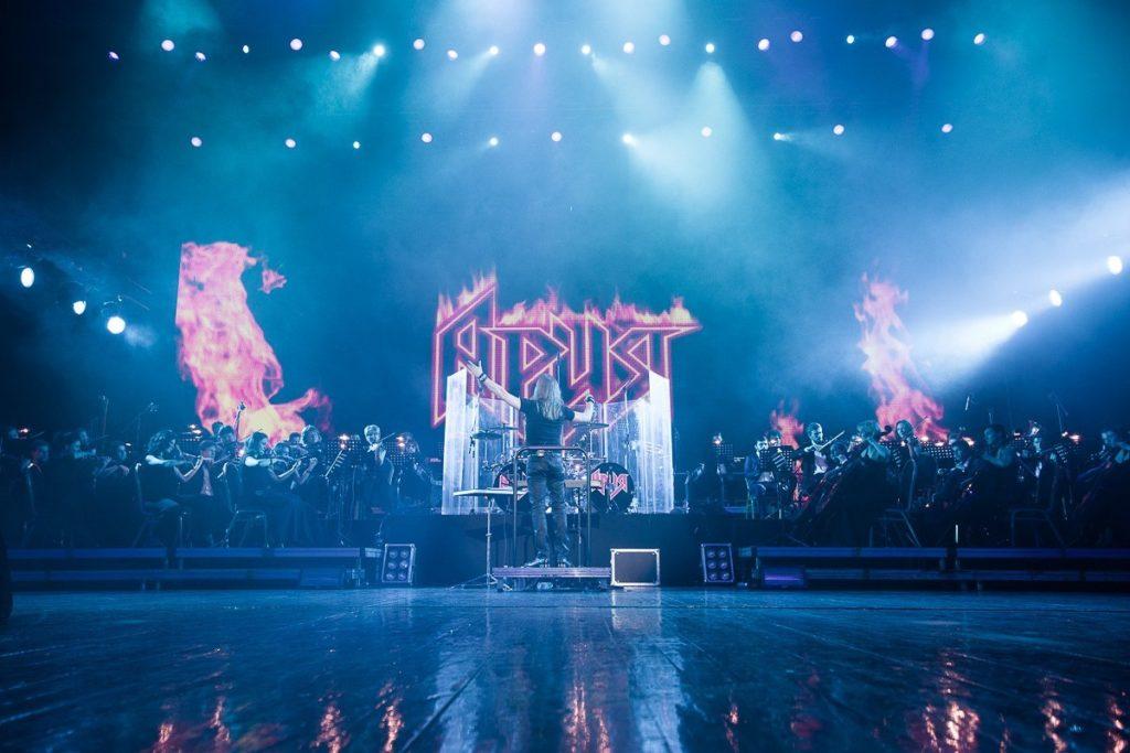 Хард-рок в стилеdigital-сегодня состоится онлайн-концерт группы «Ария»