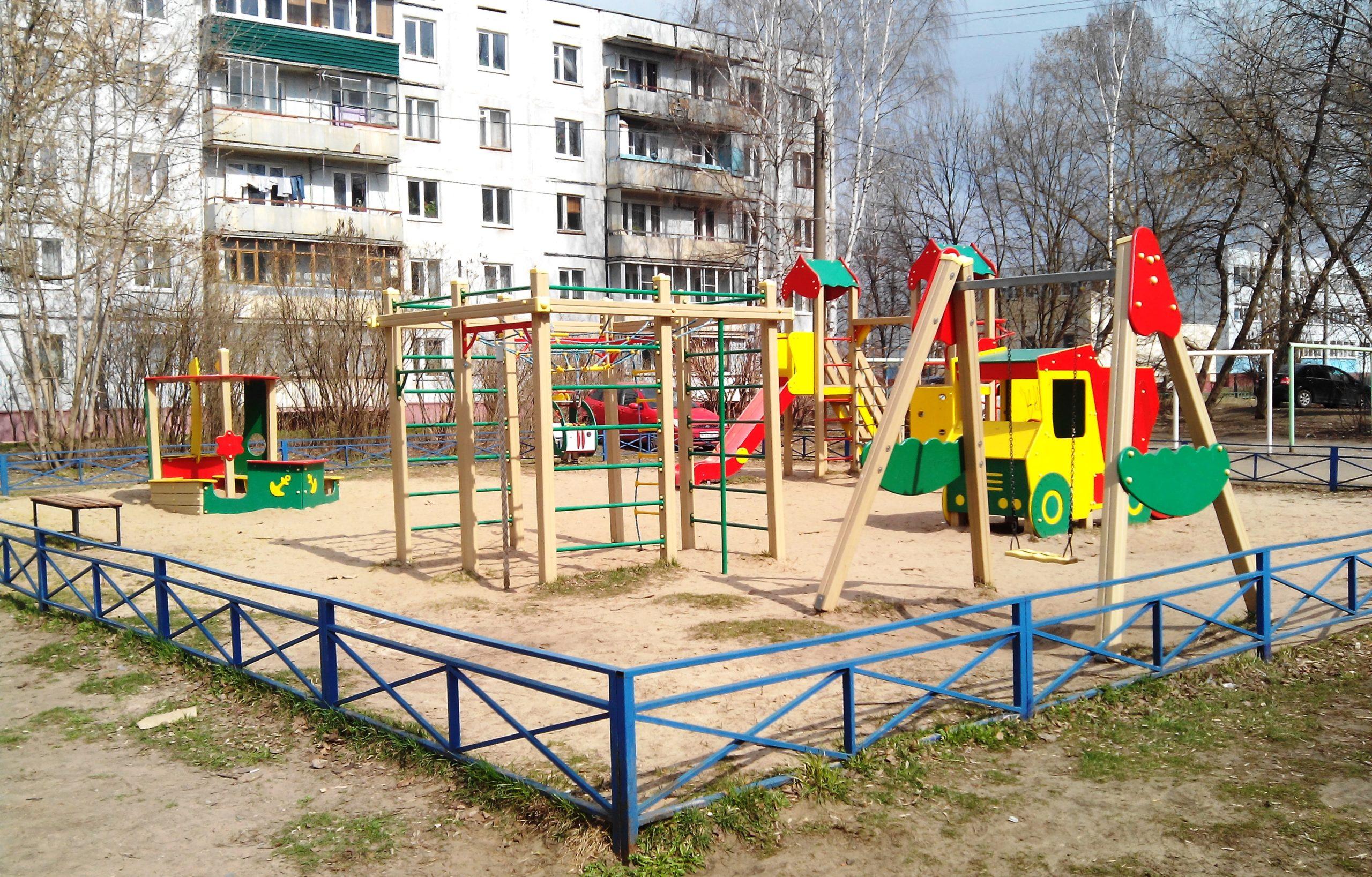 В Тверской области установят 43 детских игровых площадки