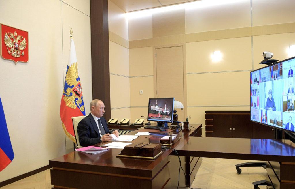 Игорь Руденя принял участие в совещании Владимира Путина с главами российских регионов