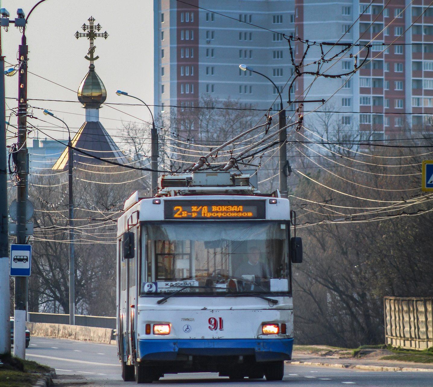Последние троллейбусы покинули улицы Твери