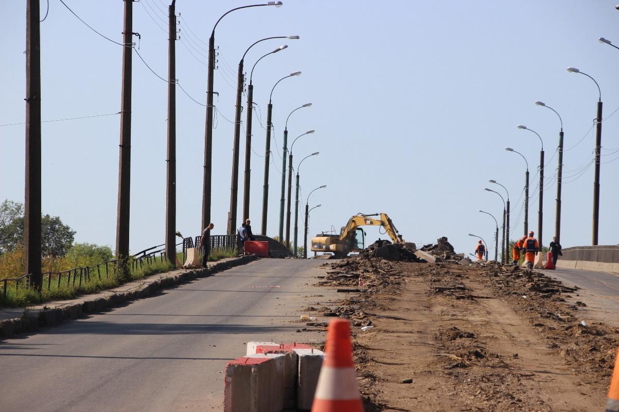 В Твери продолжат ремонтировать Бурашевский путепровод