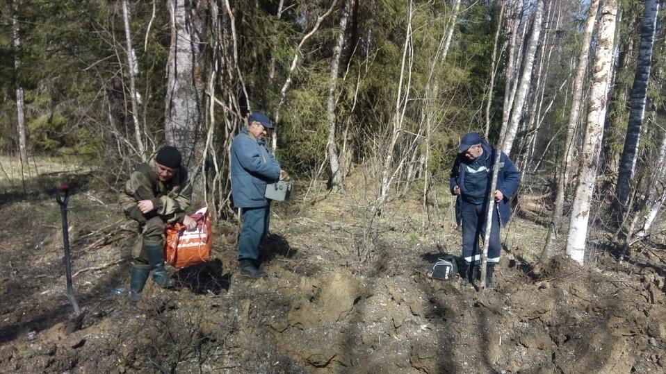В Тверской области саперы обезвредили боеприпасы времен войны