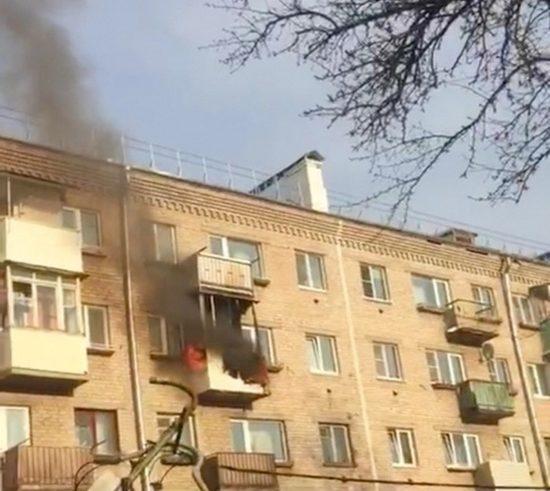 В Тверской области сгорела квартира
