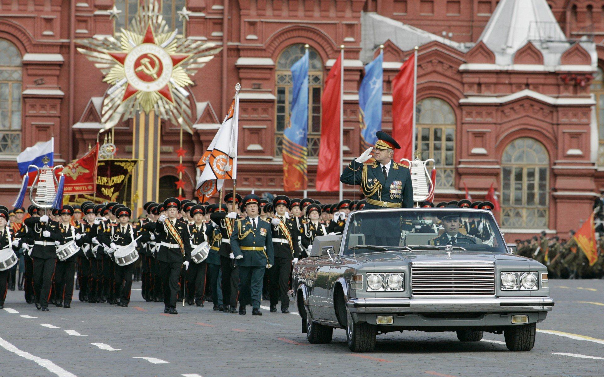 Власти России приняли решения о переносе парада 9 мая