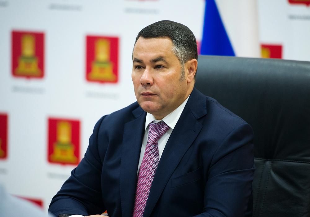 Губернатор Тверской области дал интервью федеральному каналу