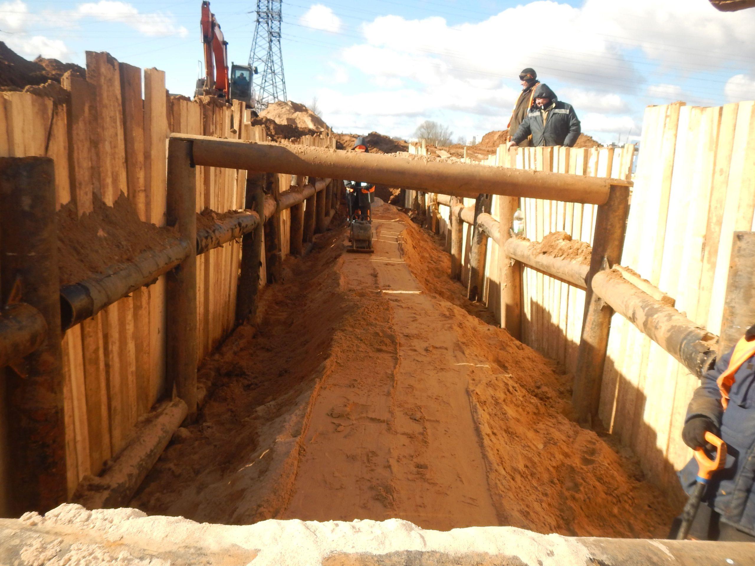 В Твери прокладывают новую нитку главного городского водовода