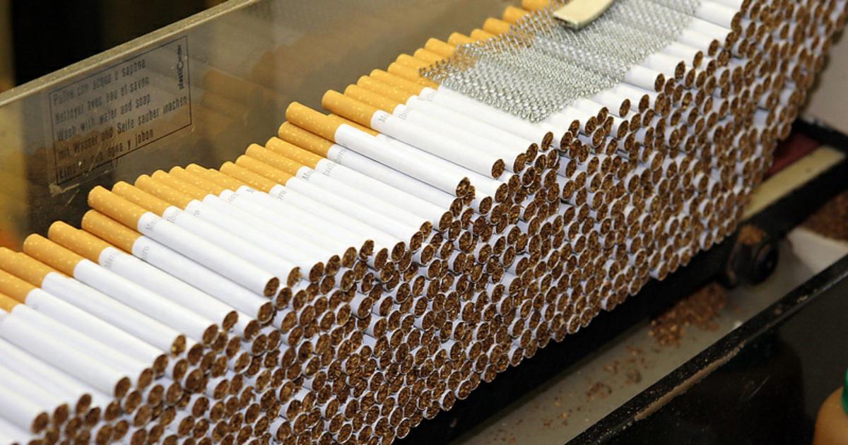 В Тверской области торговали контрафактными сигаретами