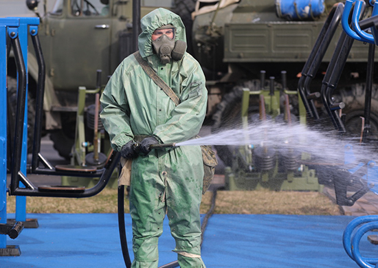Военные проведут дезинфекцию Тверского вагонзавода