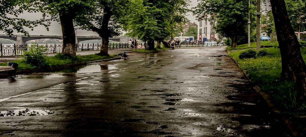 В четверг Тверь накроют дожди