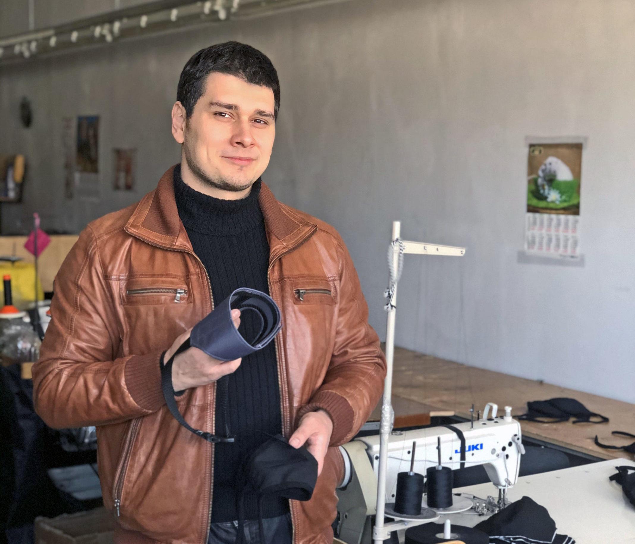 Новый участник флешмоба «Покупай тверское» предприниматель Артем Душкин