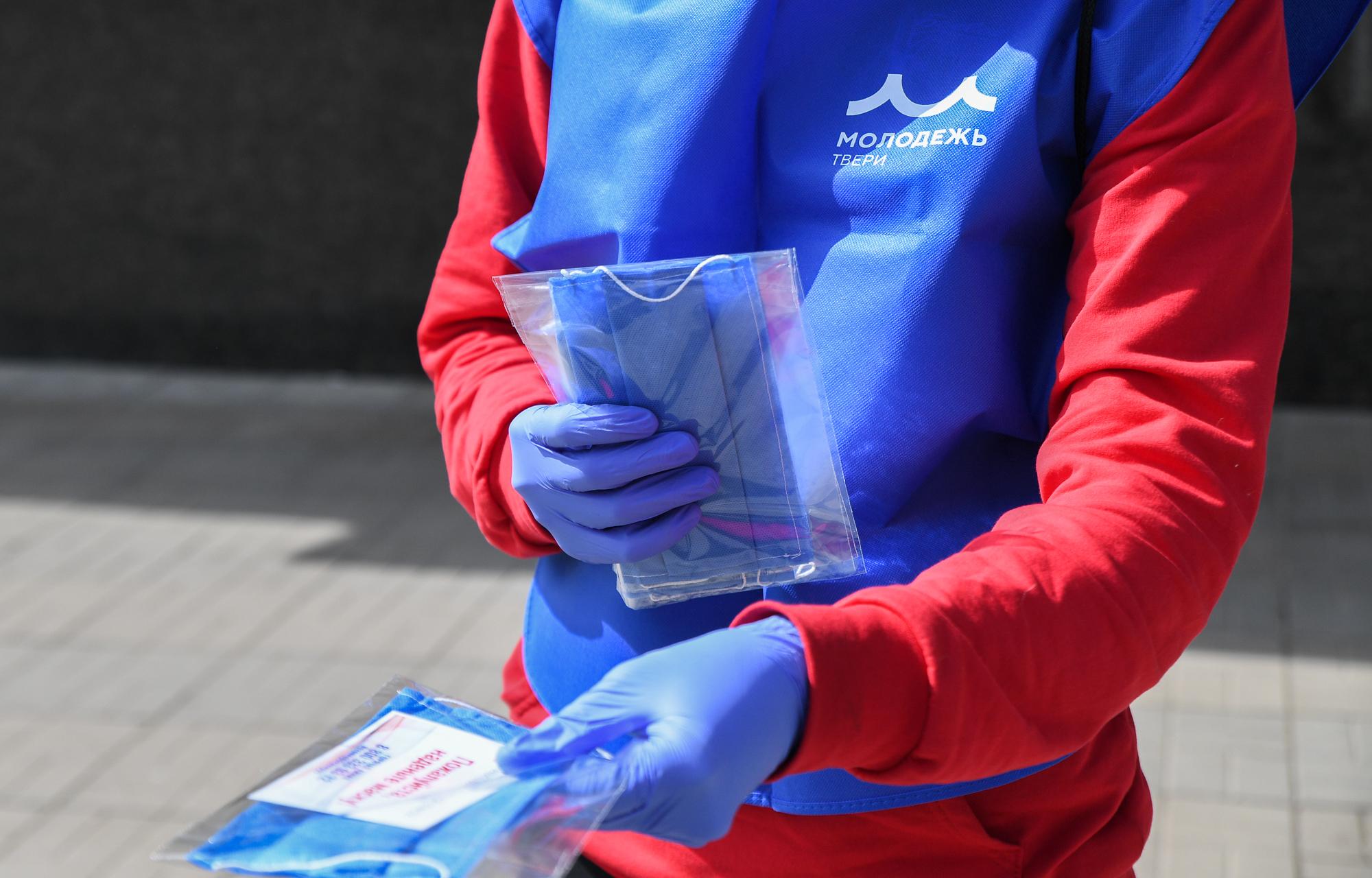 В Тверской области начали раздавать бесплатные маски