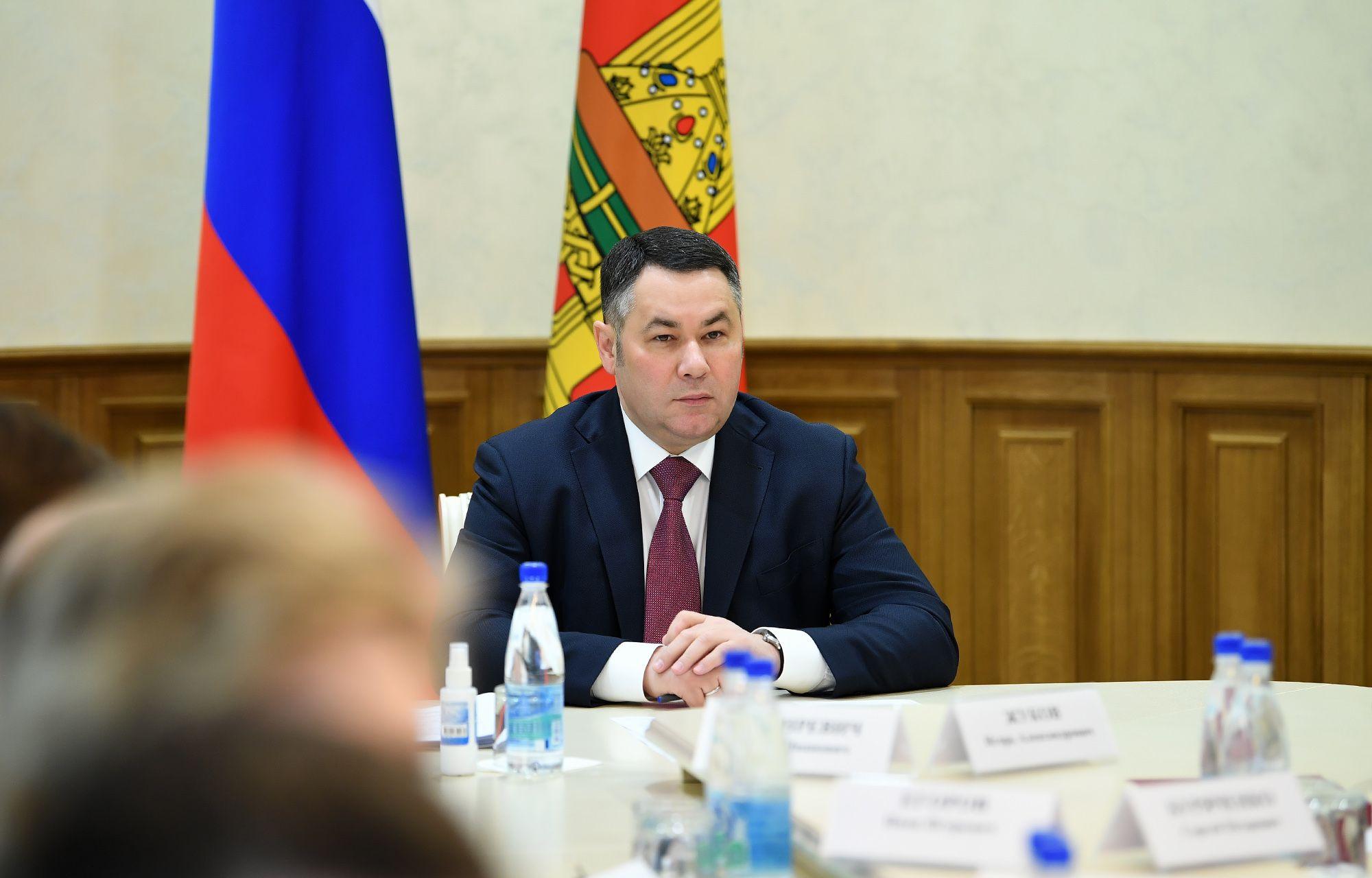 Игорь Руденя провел оперативное совещание по предупреждению завоза и распространения коронавируса