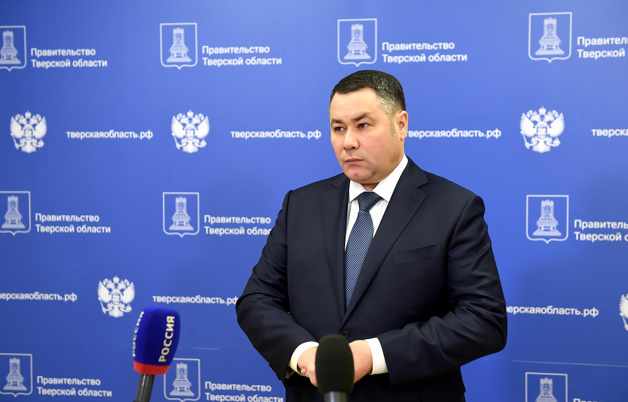 Игорь Руденя прокомментировал продление в Тверской области мер по предупреждению коронавируса