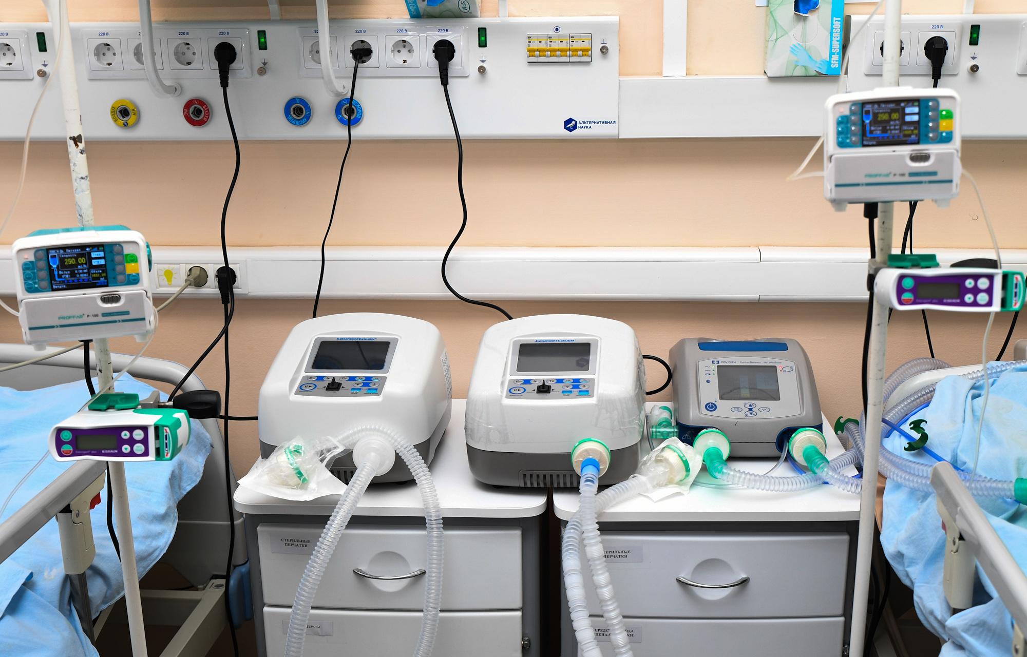 В больницы Тверской области доставят 168 аппаратов ИВЛ и другое оборудования для лечения коронавируса