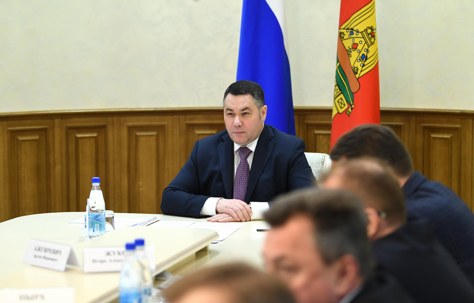 Игорь Руденя провёл селекторное совещание с главами муниципалитетов по вопросам предупреждения распространения коронавируса