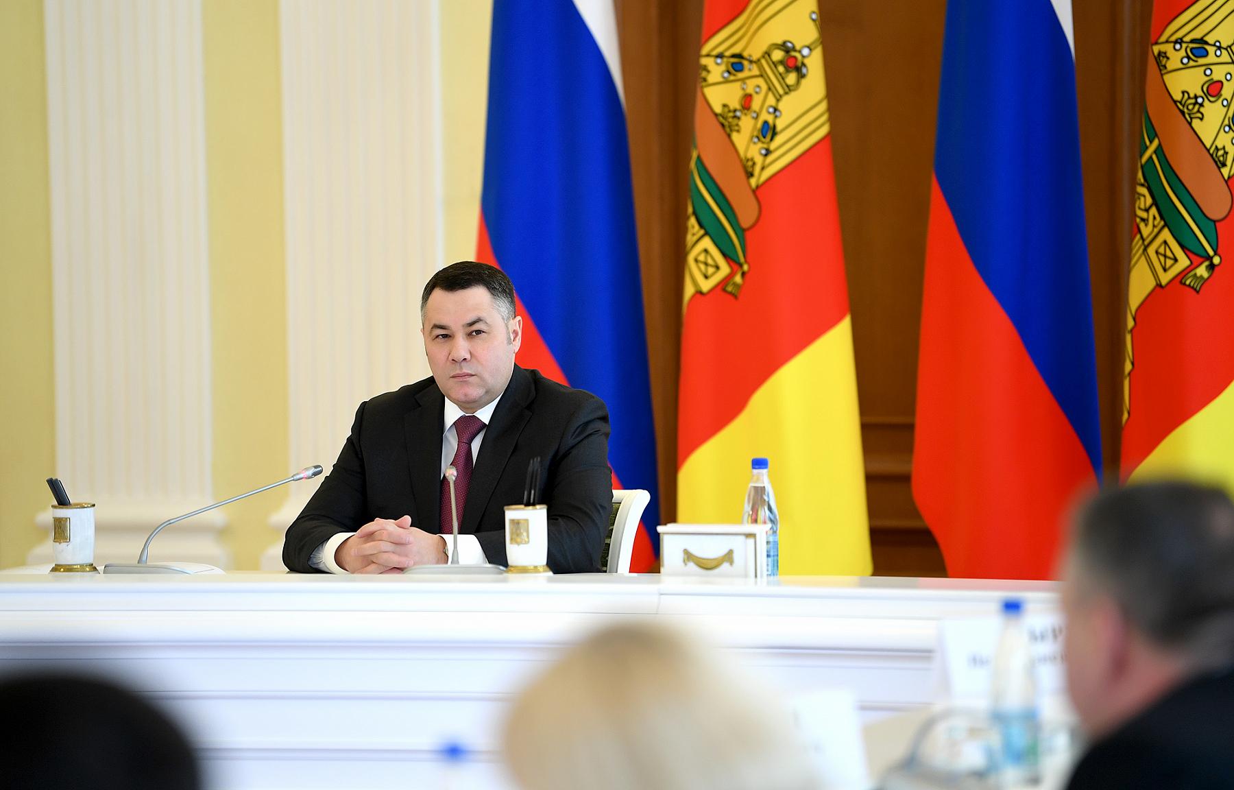 Игорь Руденя обсудил со штабом ситуацию по коронавирусу