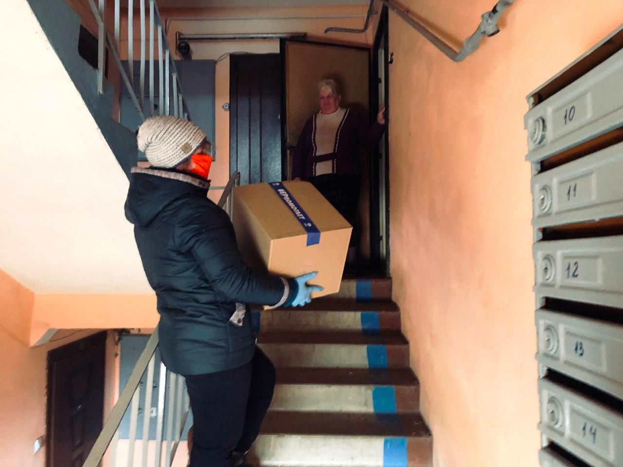 Тверские  волонтеры акции #МыВместе продолжат доставку продуктов в майские праздники