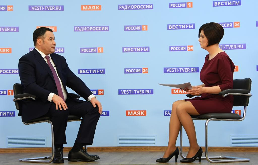 Губернатор рассказал, сколько заболевших короновирусом в Тверской области не имеют симптомов