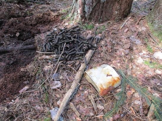 В Тверской области найдены предметы военного быта красноармейцев