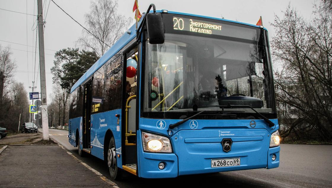 В Твери и Калининском районе введены все 85 автобусных маршрутов