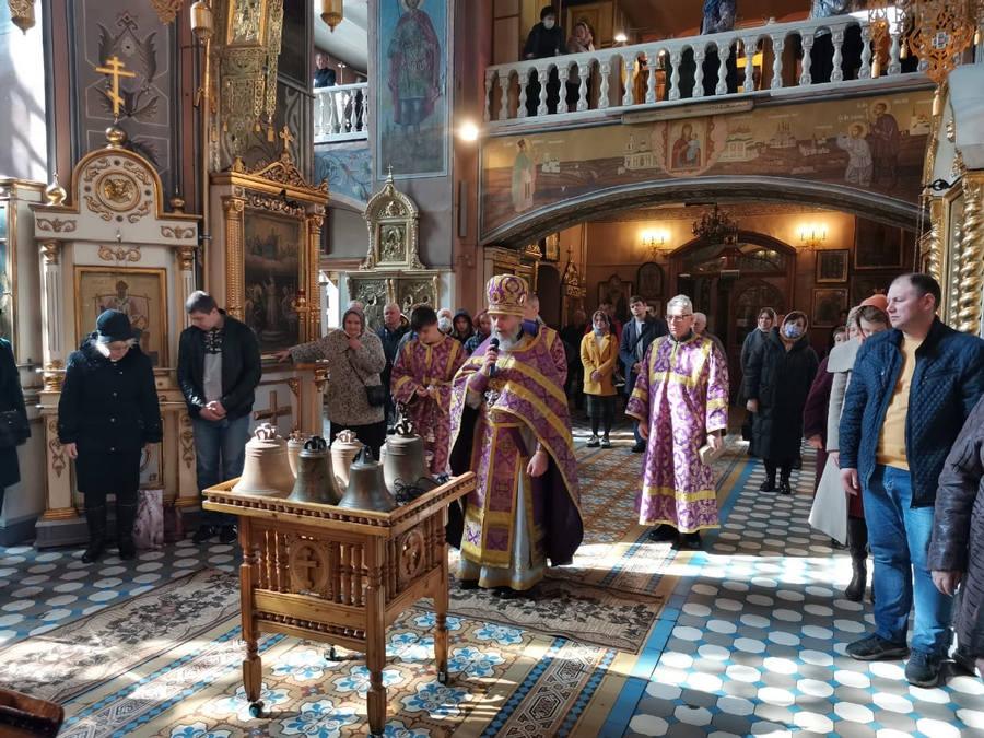 На Преображенском соборе в Кимрах на Пасху впервые зазвонят колокола
