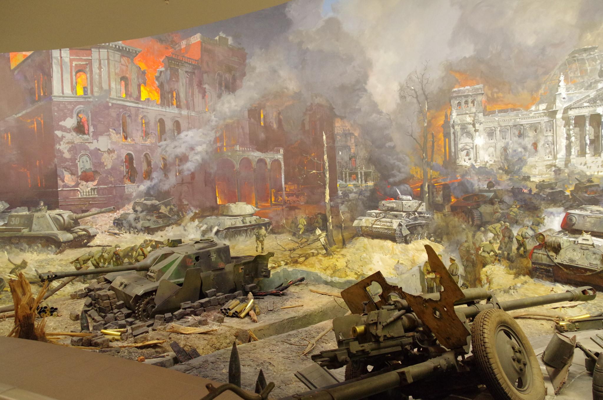 Жители Твери смогут увидеть диораму штурма Берлина онлайн