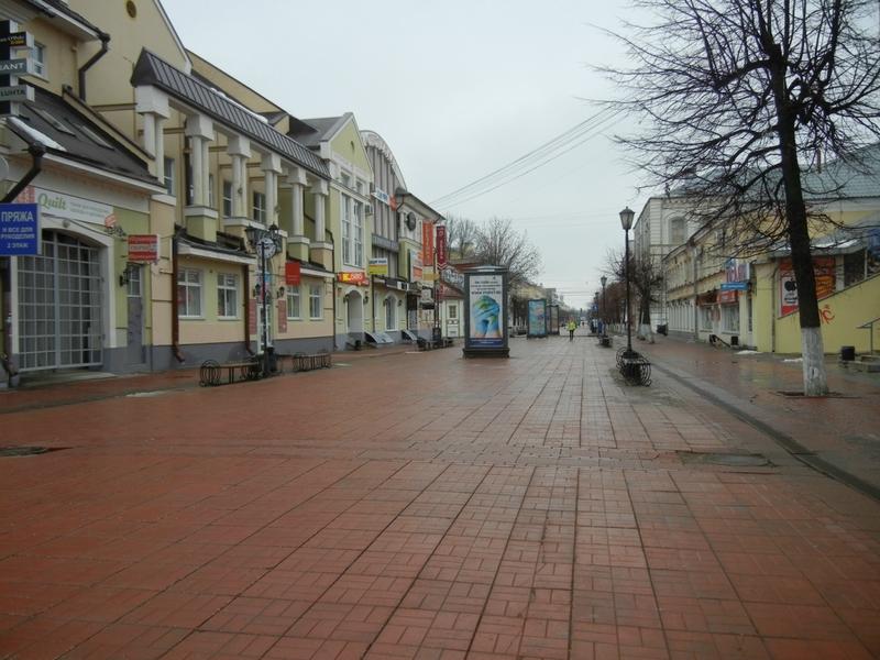 В Твери на улице почти никого нет