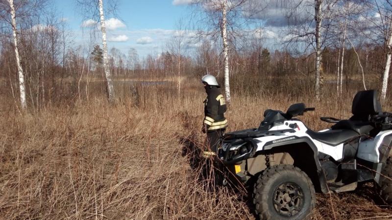 МЧС Тверской области ведет постоянный мониторинг пожароопасной обстановки с помощью беспилотников