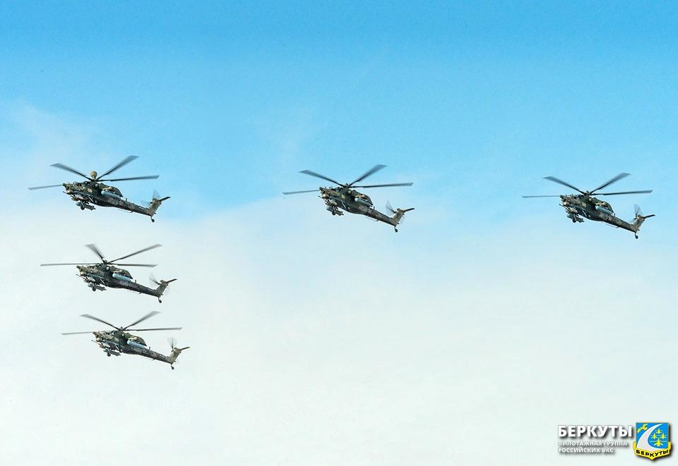 Тверские «Беркуты» репетируют парад Победы