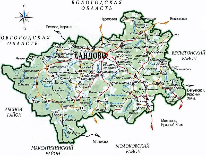 Сандовский район станет муниципальным округом