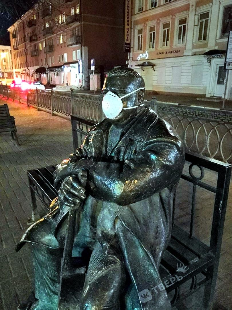 В Твери Михаилу Кругу надели маску