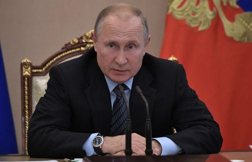 Сегодня Владимир Путин выступит с новым обращением к гражданам
