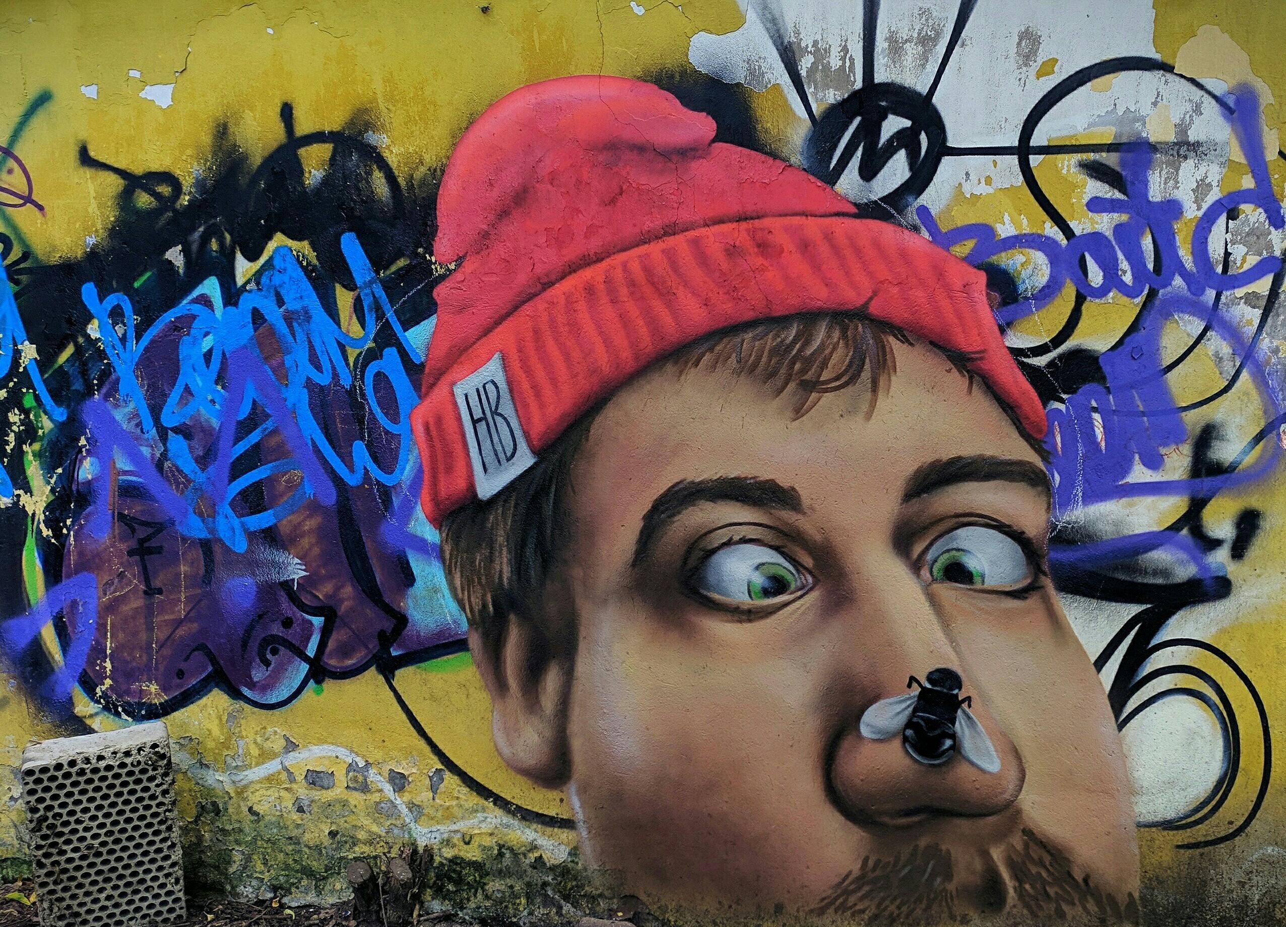 В Твери появилось новое красивое граффити