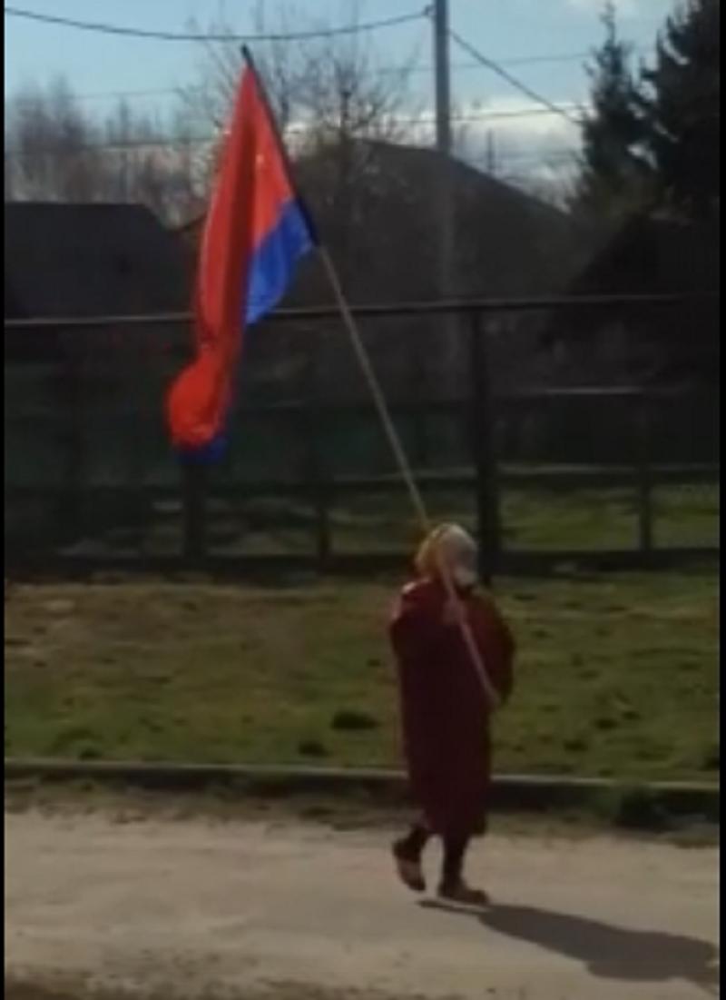 Бабушка из Тверской области оригинально отпраздновала 1 мая