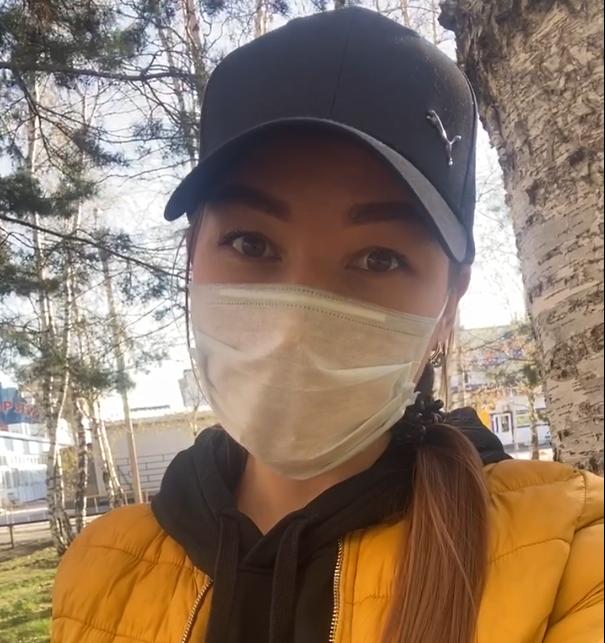 Девушка из Тюмени записала для Твери видео о ношении маски
