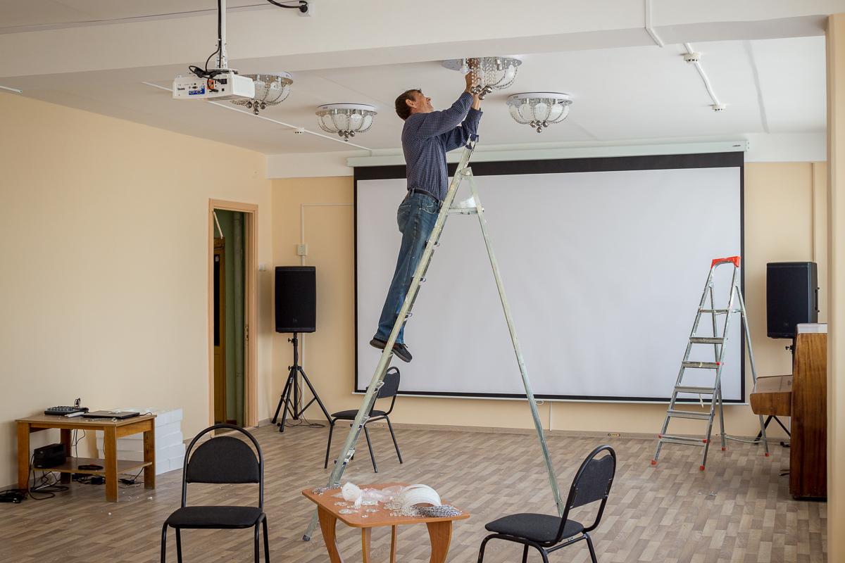 Концертный зал в Тверской области готовится к открытию