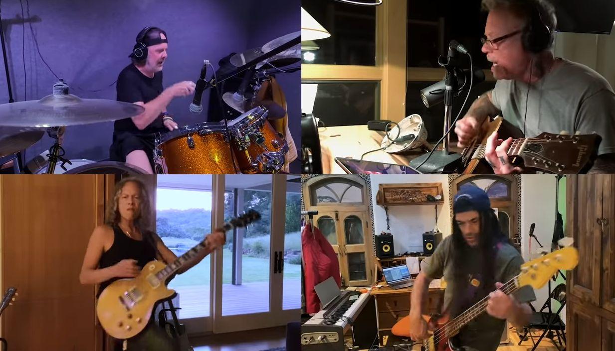 Видео карантинной версии «Blackened» от группы «Metallica» набирает обороты