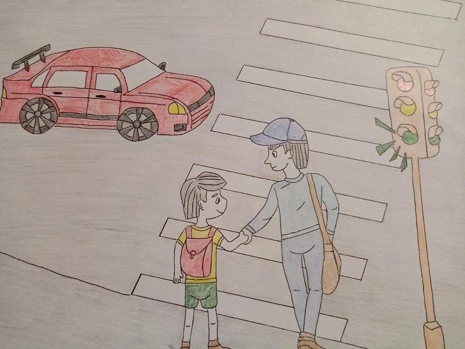 Юные жители Тверской области даже в самоизоляции повторяют ПДД