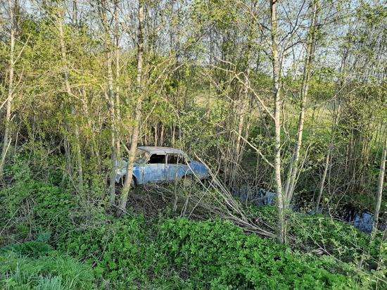 В Тверской области пьяный водитель вылетел в кювет