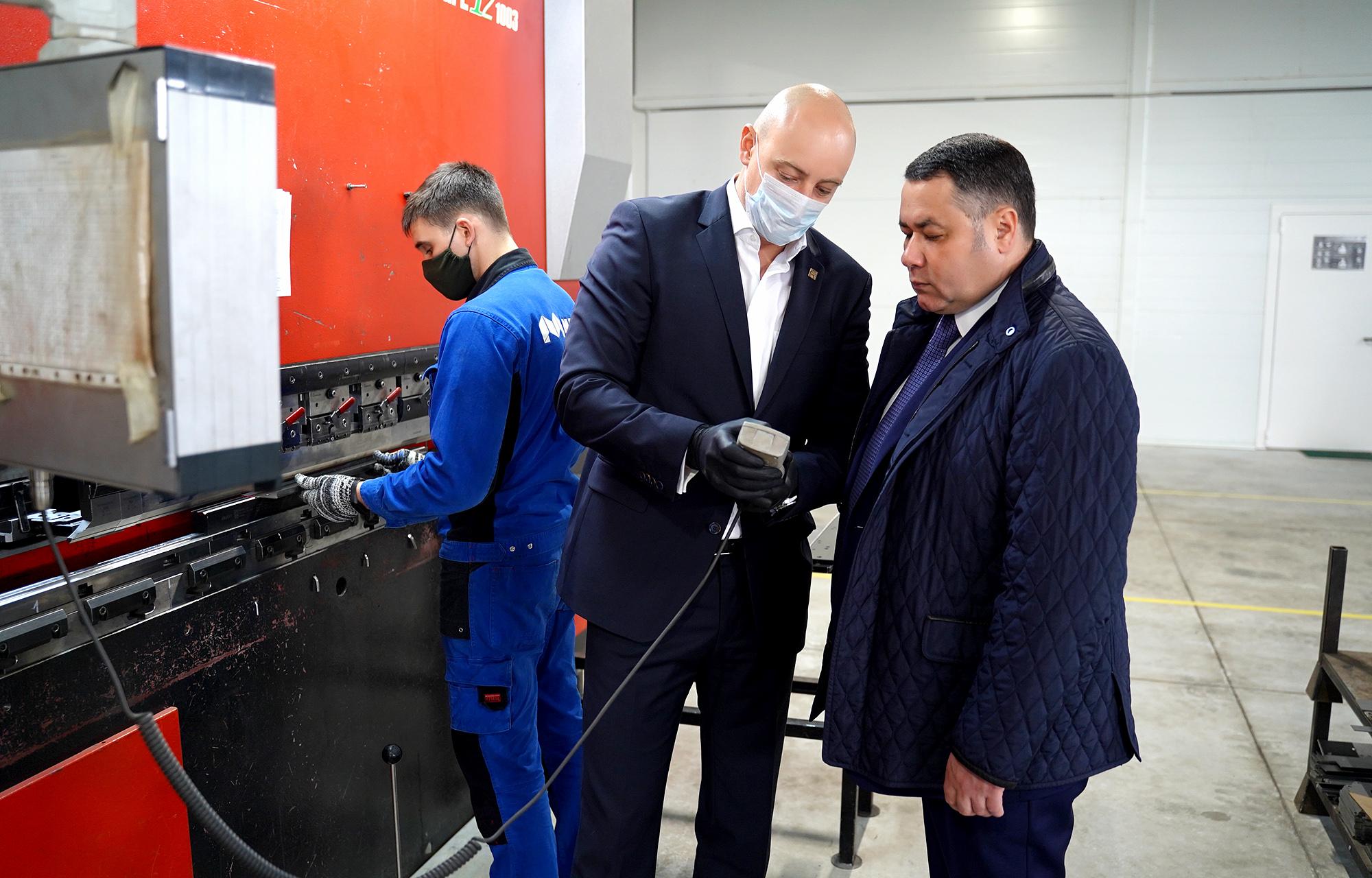 Игорь Руденя посетил новую инвестплощадку «Боровлево-3»