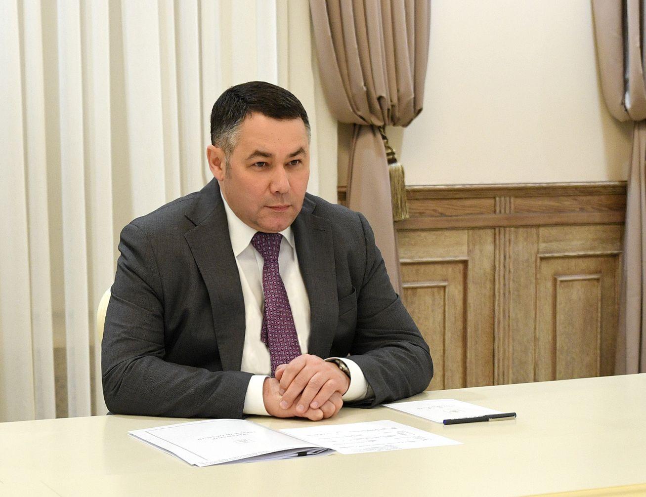 Игорь Руденя встретился с главой Бежецкого района
