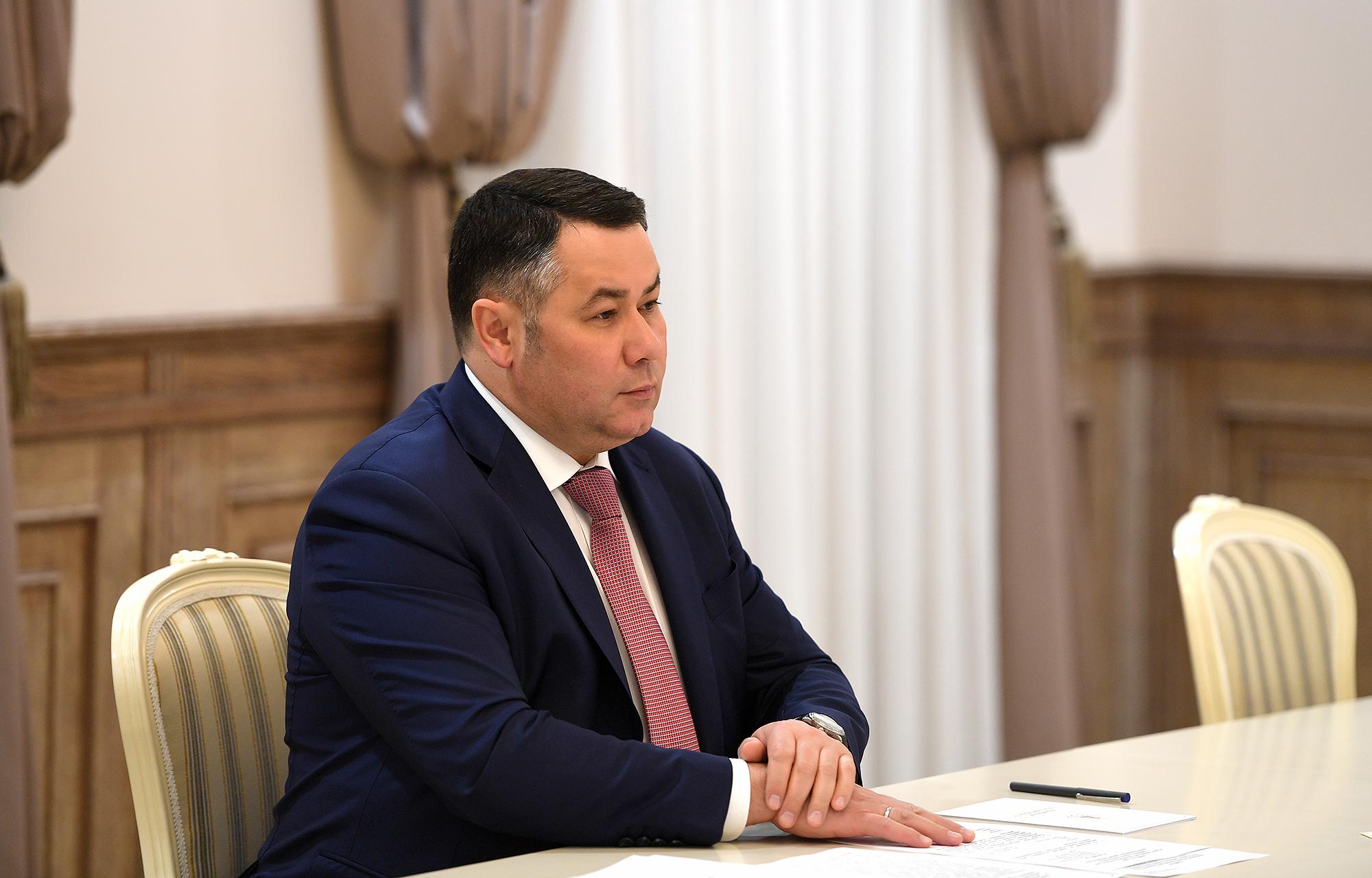 Игорь Руденя провел встречу с главой Калининского района
