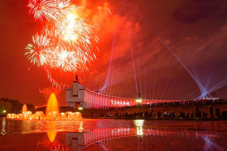 Салют в честь 75-летия Победы онлайн в Тверской области