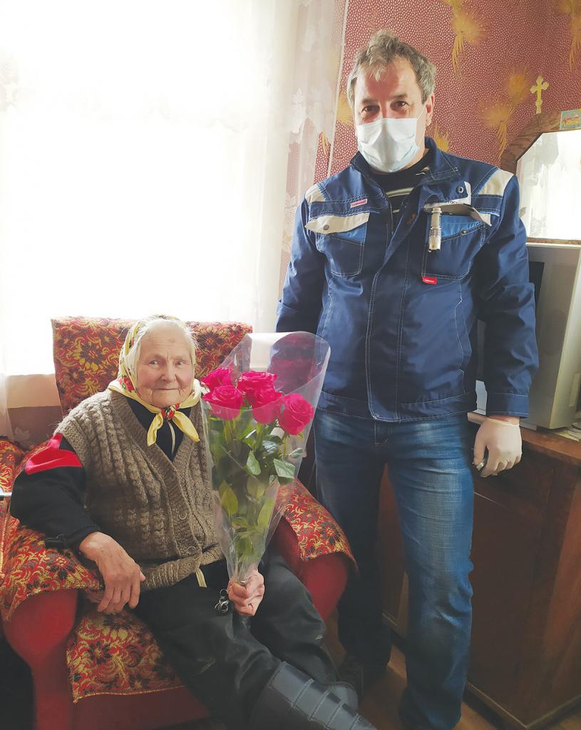 Энергетики в Тверской области сделали подарок ветерану